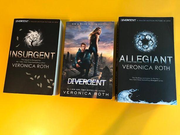 Carti - seria Divergent  - Veronica Roth