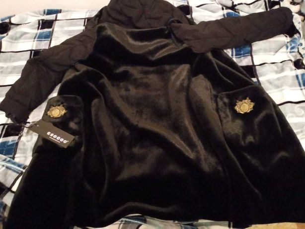 Современная новая куртка пальто от Esocco