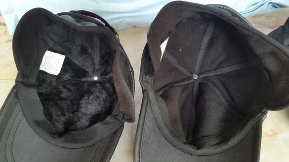 Кожена зимна шапка от Русия