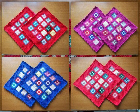 Плетени възглавнички