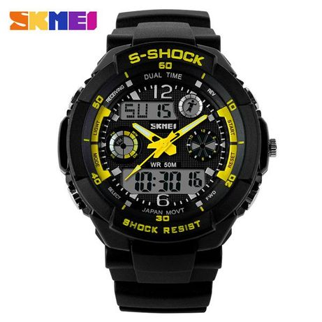 Ceas SKMEI S - Shock rezistent la apa 5 culori functii alarma calendar