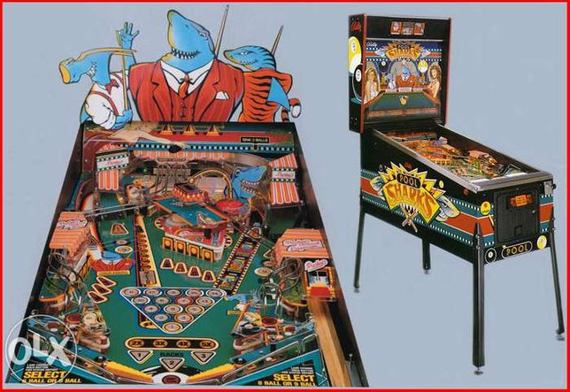 Flipper Pinball - Pool Sharks Bally - Joc Distractiv, Game Room.