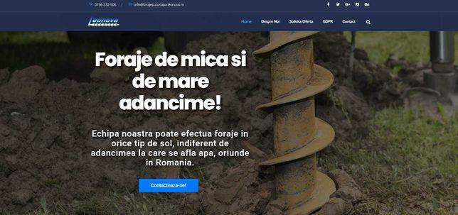 Realizare Website Prezentare Modern - Asiguram Suport Tehnic