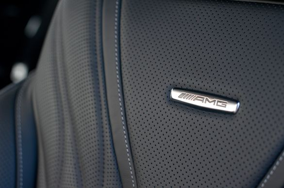 Емблема за Мерцедес Mercedes AMG