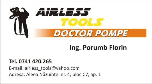 Reparatii Pompe Airless Mentenanta Vopsit Glet