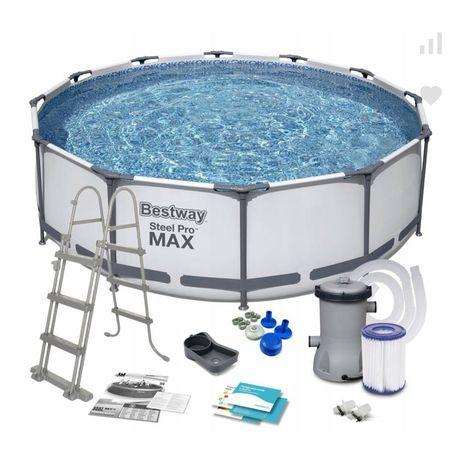 Каркасный бассейн 3.66×122