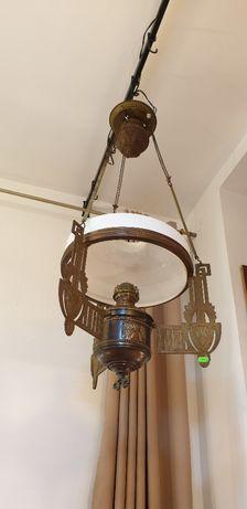 Lampa de tavan , veche , cu gaz