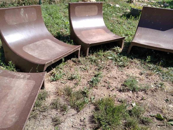 Градински столове от полиуретанова пяна