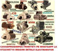 Electromotor NOU pentru tractor,buldoexcavator,stivuitor,utilaje .