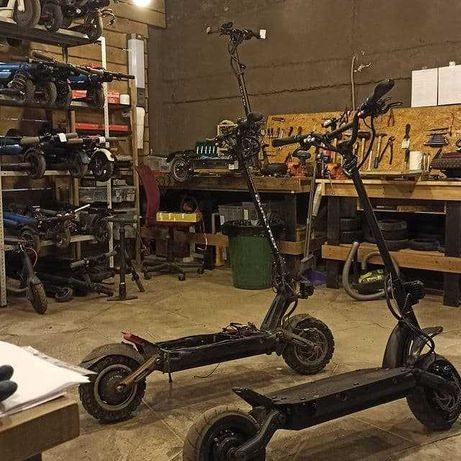 Ремонт электроскутеров, электро мопедов мотоциклов скутеров самокатов