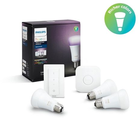 Philips Hue Starter Kit E27 White and Color Ambiance Nou sigilat