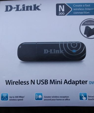 Wirelease N SUN Mini Adapter DWA-140