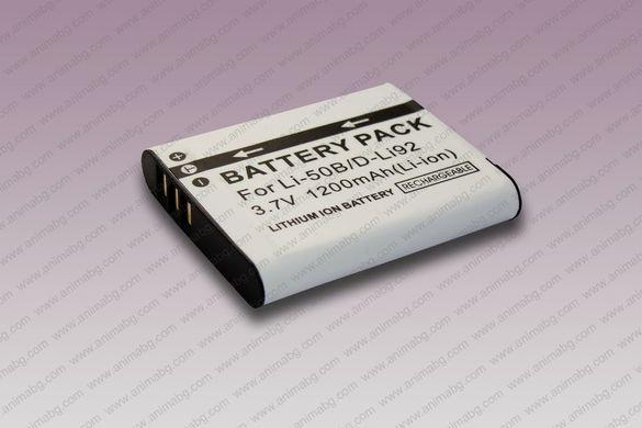 ANIMABG Батерия модел Li-50B / DB-100 за Olympus Pentax Ricoh