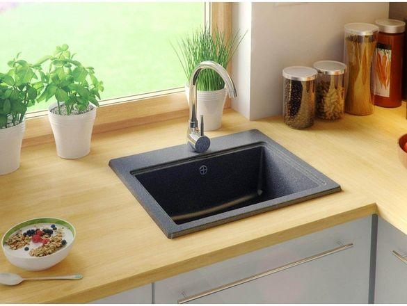 Гранитна Мивка за Кухня модел Осло - Антибактериална Кухненска Мивка