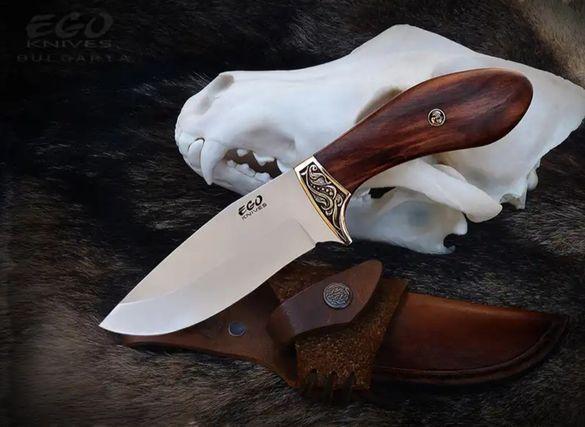 EGO, български ловен нож,с включена доставка