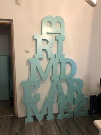 Litere volumetrice volumetrie decoratiuni 3D litere polistiren
