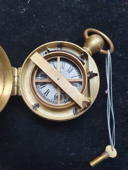 Стар корабен часовник за отмерване