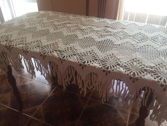 Покривка за легло на една кука