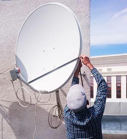 Установка настройка спутниковых антенн отау