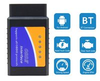 Диагностика за коли ELM 327 Bluetooth, OBD2 чрез Android или PC