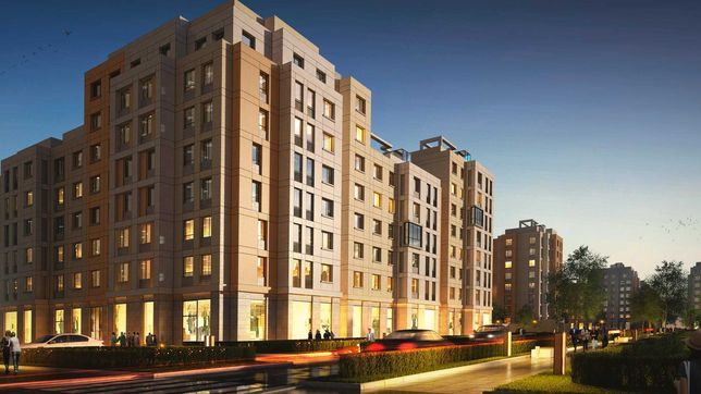ЖК Expo Boulevard,  40м^2, 3 этаж, 1-комнатная квартира посуточно