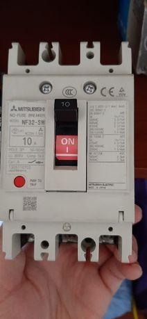 Автоматический выключатель mitsubishi nf32-sv 10 A