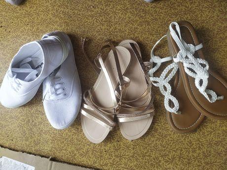 Летняя обувь  сандали кеды лёгкие и шлепки