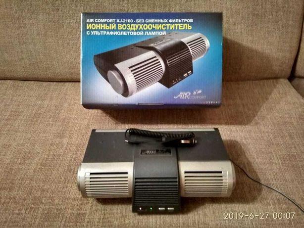 Ионный воздухоочиститель с ультрафиолетовой лампой XJ-2100