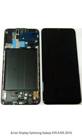 Display A70 A705 Samsung Original Complet cu rama