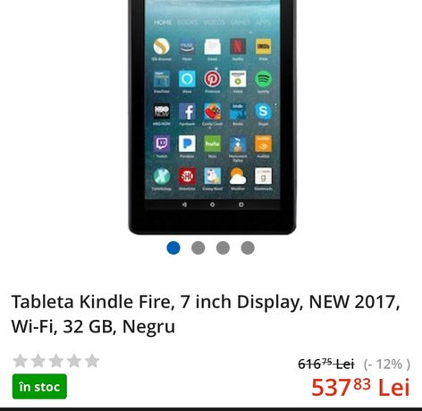 Tableta fire 7 with Alexa