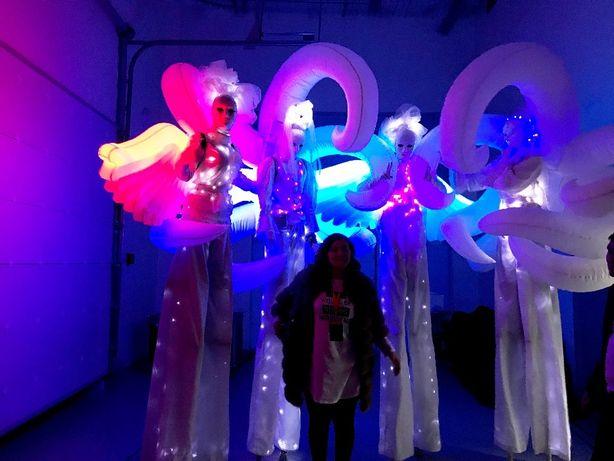 Артисты на ходулях в Алматы! Ходулисты. Выезжаем по всему Казахстану