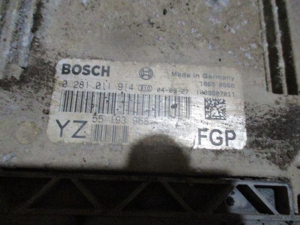 Calculator motor ECU Opel Vectra C Signum Astra H Zafira B 1,9 CDTI