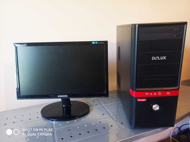 Компьютер+монитор.i3 2105,ОЗУ 8 GB,9600GT(1gb,256bit).Dota2,GTA5,CSGO
