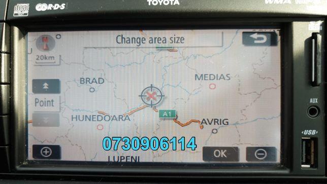 Card Original Toyota TNS 510 Harti Navigatie Prius Yaris Rav Auris2019
