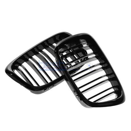 Бъбреци/решетки за БМВ Е39 BMW Е39 Черен гланц - Двойни М дизайн