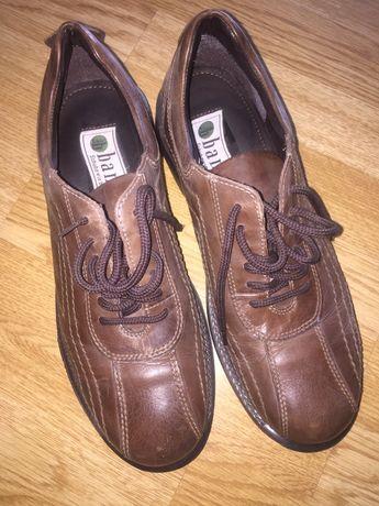 Pantofi piele maro nr 44