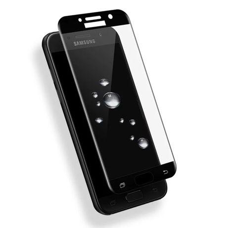 5D Стъклен протектор за Samsung A3 A5 A6 A7 A8 A9 J3 J4+ J5 J6 J6 J7