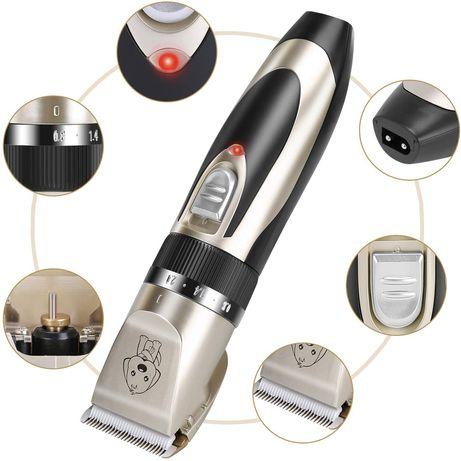 Безжична машинка за подстригване на кучета и котки