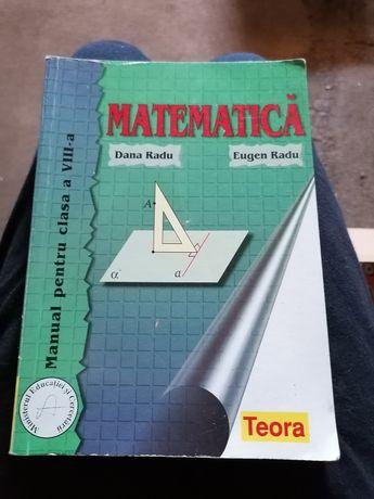 Manual matematica clasa a VIII-a