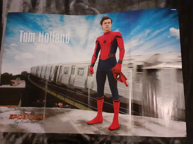 Megaposter cu Tom Holland (Spiderman : Far from home)