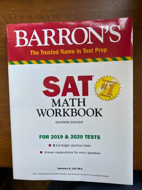SAT Math Workbook - Barron's