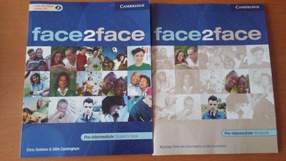 Учебник + CD и тетрадка по английски Pre-intermediate, Кеймбридж