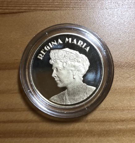 Moneda 50 bani 2019 PROOF - Regina Maria