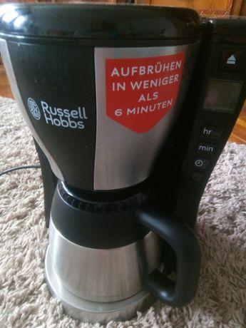 Cafetiera Russell Hobss Fast Brew 1000w carafa termica inox/negru