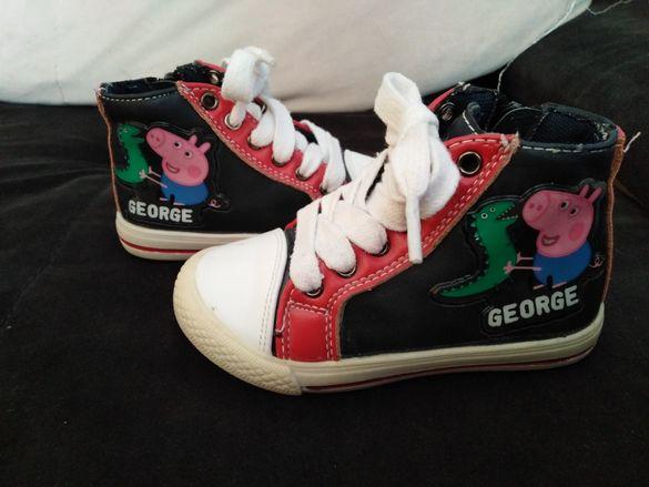 Оригинални обувчици от UK на Peppa Pig/George н.23
