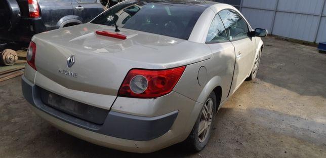 Dezmembrez Renault Megane 2, 1.9 diesel, an 2005, cabrio, cc