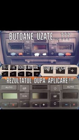 Stickere reconditionare butoane Audi si VW &