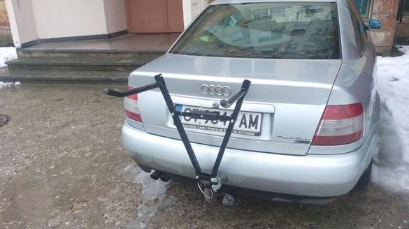 Багажник за велосипед за теглич за 3 колела