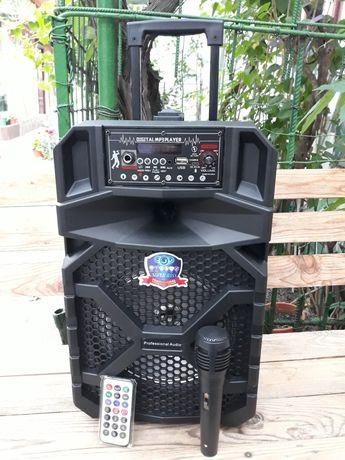 Troler Boxă Karaoke - Bluetooth