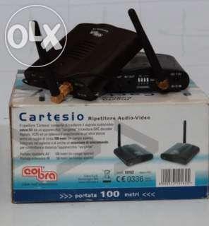 Transmiter audio-video wirelees cobra distanta maxima 100m !